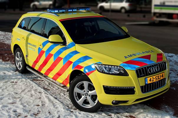 Nieuw voertuig voor Mobiel Medisch Team