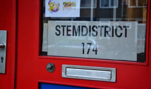 stembureau Kevin van der Laan