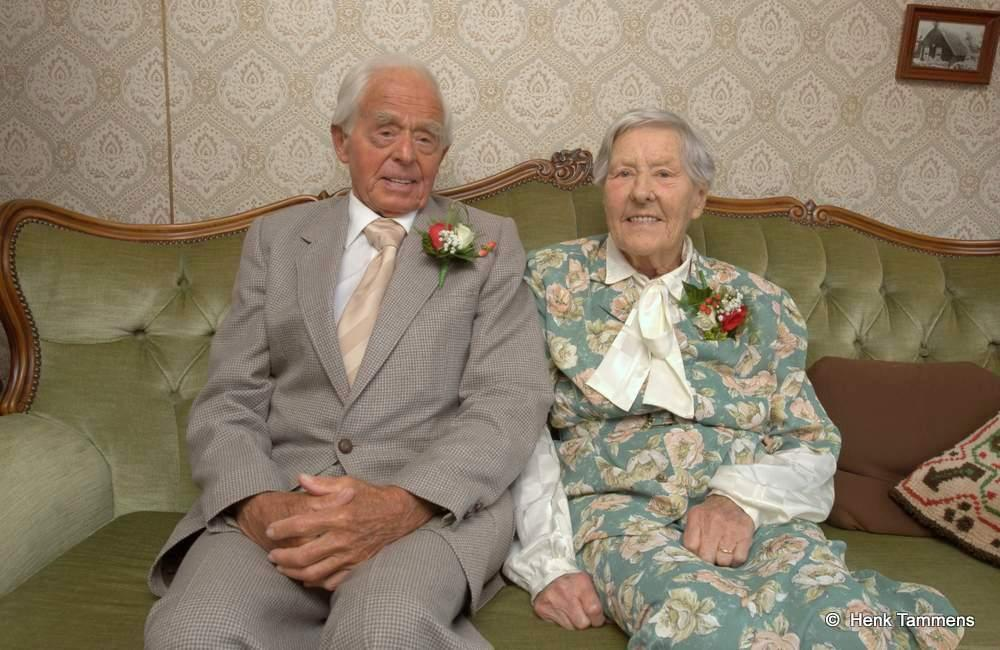 70 jaar getrouwd Echtpaar in Jupiterstraat 70 jaar getrouwd | OOG Radio en Televisie 70 jaar getrouwd