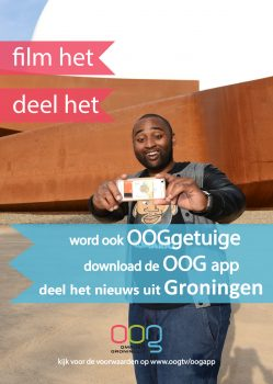 OOGgetuige app poster