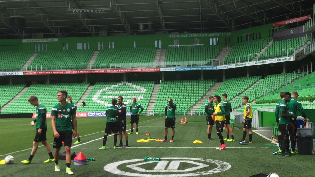 FC Groningen oefent tegen SC Preussen | OOG Radio en Televisie