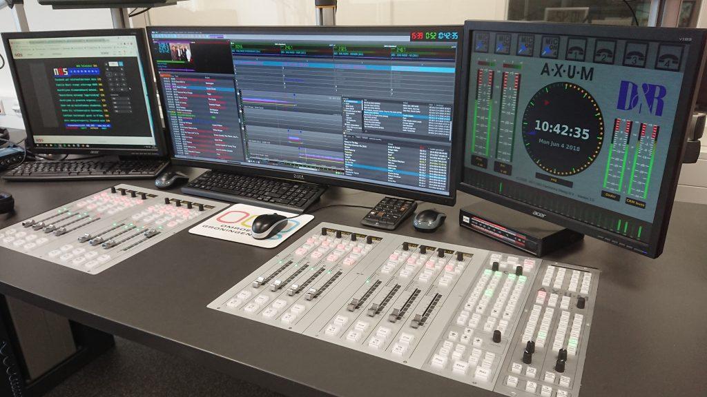 Radiostudio OOG Radio, OOG Ochtendshow, foto: Rick van der Velde