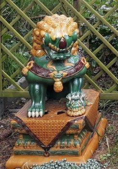 gestolen leeuw Lewenborg