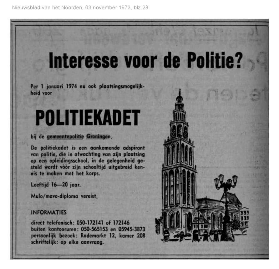Reünie Gemeentepolitie Groningen Film Uit 1974 Oog Radio En