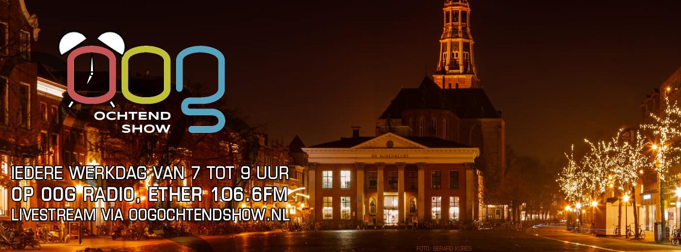 OOG Ochtendshow, Vismarkt Groningen, foto door Gerard Kobes - site