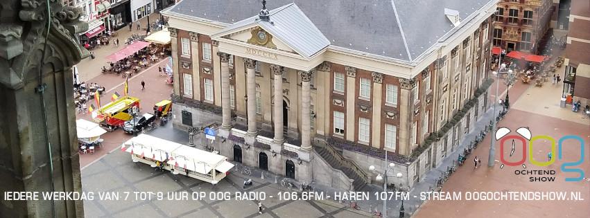OOG Ochtendshow, Stadhuis, foto door Rick van der Velde