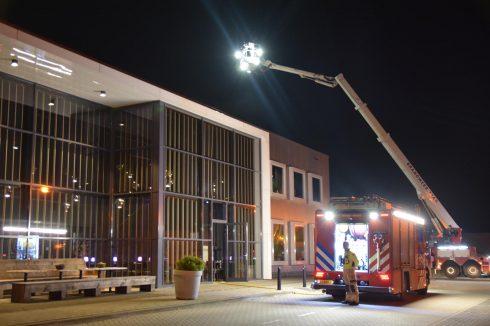 Restaurant ontruimd na brandmelding