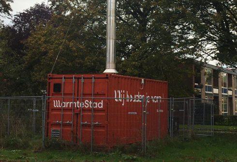 Wat doet die container met die rokende pijp in Park Selwerd? - Oog TV