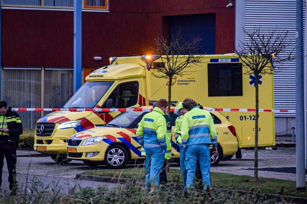 tank lek vloeistof hammerfestweg ambulances