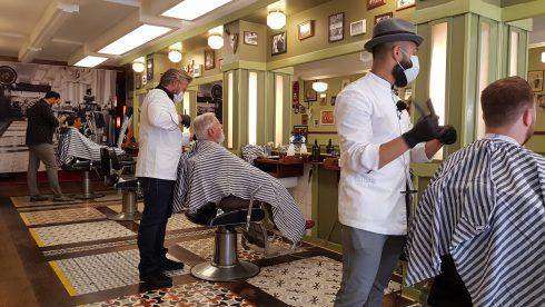 kapper barbershop Zwarte Raaf