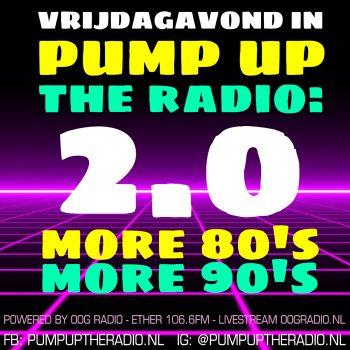 Pump Up the Radio - meer 80's, meer 90's