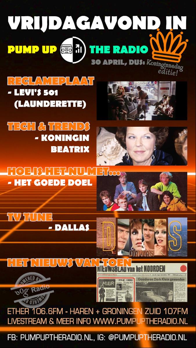 Teaser PUTR 057 Pump Up the Radio Koninginnedag editie