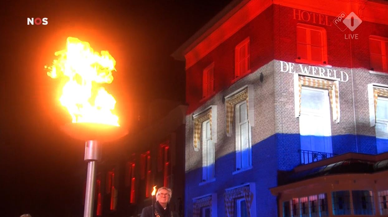 Bevrijdingsvuur ontstoken in Wageningen, Verschilmakers brengen vuur naar Groningen - Oog TV